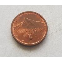 2 евроцента 2015 Словакия