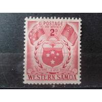 Западное Самоа 1952 Герб и флаги*