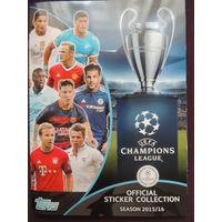 Альбом Topps Лига чемпионов 2015-2016