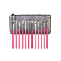 Набор кистей Zoeva Pink Elements Complete Eye Brush Set