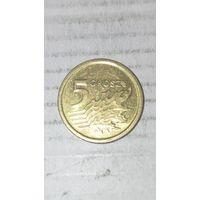 Польша 5 грош 2014