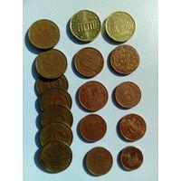 Монеты ФРГ и Евросоюза