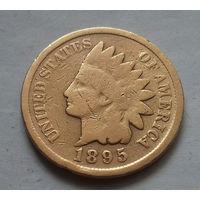 1 цент, США 1895 г., чукча в перьях-1