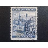 Рейх протекторат 1939 г Оломоуц