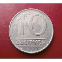 10 злотых 1987 Польша #05