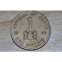 Кения 1 шиллинг 1997