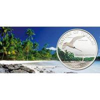 """Токелау.  1 доллар  2012 год  """"Краснохвостый фаэтон"""""""