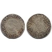 Грош 1540, Пруссия, Альберт Гогенцоллерн