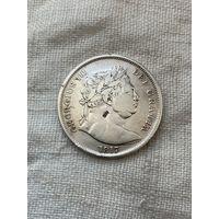 Великобритания 1/2 кроны 1817 г.