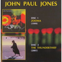 John Paul Jones - Zooma (1999) / The Thunderthief (2001) (2009, 2xAudio CD)