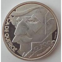 Португалия 500 эскудо 2000 года. Серебро. Пруф! Более редкий тип!