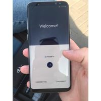 Samsung Galaxy S8+ арктический серый 10 из 10 б.у 5 месяцев