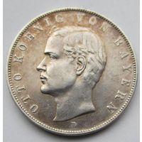 3 марки 1910 D Бавария с блеском
