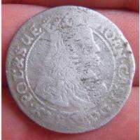6 грошей 1667 г