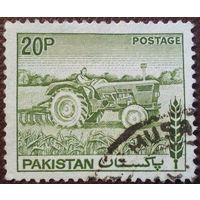 Пакистан 1979.Трактор.Сельское хзяйство