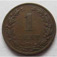 Нидерланды 1 цент 1900