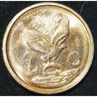6638:  2 цента 2001 ЮАР