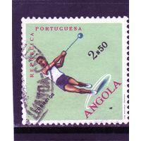 Португальская Ангола.Mi:AO 444.Спорт.Метание молота.1962.