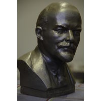 Бюст Ленин  ( большой 26 см , ширина 16 см ) , авт . Сычев