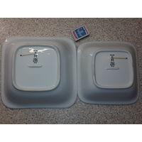 Криегсмарине офицерские квадратные салатники размеры на фото оригинал (цена за шт)