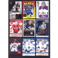 НХЛ  NXL Хоккей Вратари 29 карточек