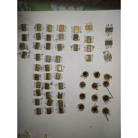 Микросхемы, транзисторы, резисторы