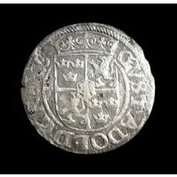 1/24 ТАЛЕРА (драйпелькер) 1623 год. ГУСТАВ II АДОЛЬФ. РИГА (Шведская оккупация)