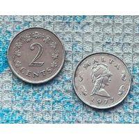 Мальта 2 цента 1977 года. Инвестируй выгодно в монеты планеты!