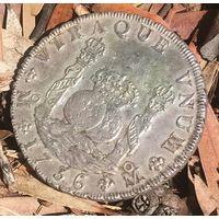 Мексика  8 реалов Пиллар Филип 5