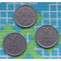 Швеция 50 эре (центов). Адольф Густав VI.