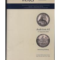 Каталог аукциона монет в Германии 17.09.2012 г. (*). с 10,00 руб.!!!