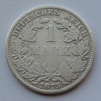 Германия - Германская империя 1 марка. 1875. B