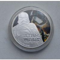 Звездные войны.Копия редкой монеты. 2016