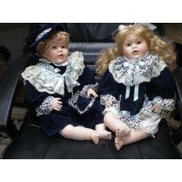 Фарфорвая кукла. 58 см. JKL