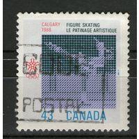 Канада. Михель- 1077. Гашеная