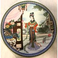 Китайская коллекционная тарелка