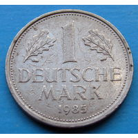ФРГ 1 марка 1985 D