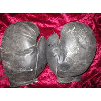 Перчатки боксерские СССР . Конский волос L