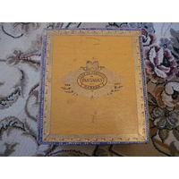 Деревяная коробка от сигар PARTAGAS(пустая)