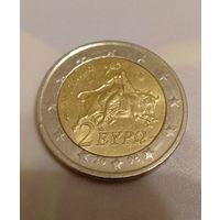2 евро 2008 Греция тираж ВСЕГО 1 млн.