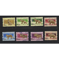 Россия 2008 год, 8 гаш. марок, стандарт фауна