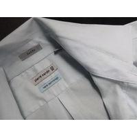 Рубашка мужская (новая) Pierre Cardin, р.43/90 нежного мятного цвета(шкала цвета в лоте прилагается)