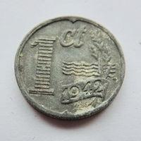 Нидерланды, 1 цент 1942 год