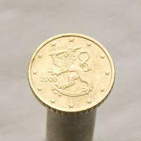 Финляндия 50 евроцентов 2000