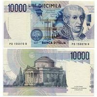 Италия. 10 000 лир (образца 1984 года, P112b)