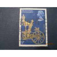 Марка Великобритания 1978 год 25-летие Коронации