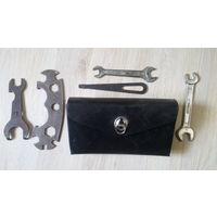 Велосипедный бардачек сумка велосипедная СССР с ключами
