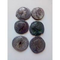 Монеты римской империи. Древний Рим.