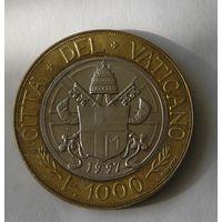Ватикан 1000 Лир 1997 (1)