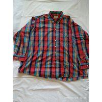 Мужская рубашка немецкой фирмы CAMEL ACTIVE.Длинный рукав.Размер 6XL .